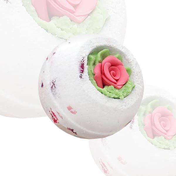 "Десерт-шарик для ванн ""Розовый сад"""