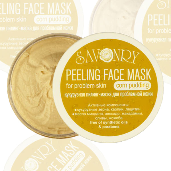 "Пилинг-маска для лица ""Кукурузный пудинг"""