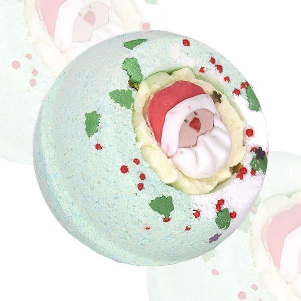 "Десерт-шарик для ванн комбинированный ""Дед мороз"""