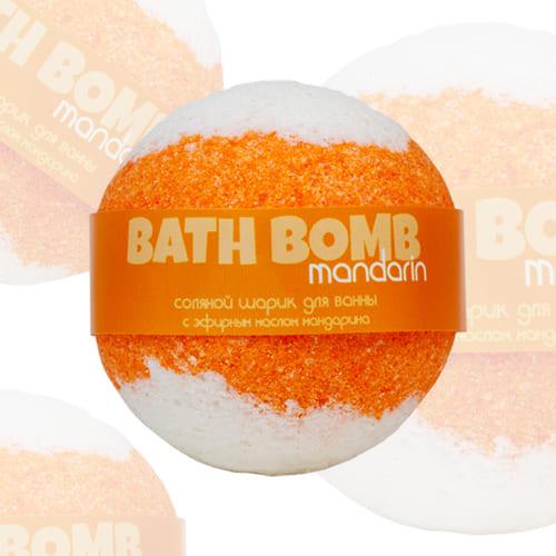 Шарик для ванн Mandarin (мандарин)